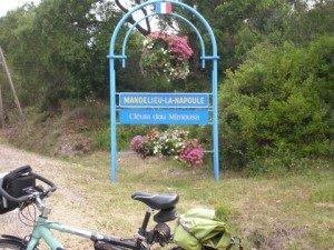 Bilan de ma  traversée à vélo de la France ,de la Bretagne vers le Sud,pour arriver à Cannes. dans Pélerinage dans le Midi 03-300x225